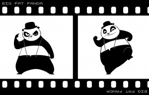 Big-Fat-Panda-T-shirt-design-fiilmstrip