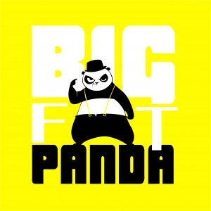 BigFatPandaT-ShirtImageYellowBraces_3ColorTrace